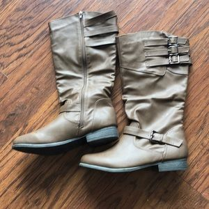 Brown Boots. Size 10